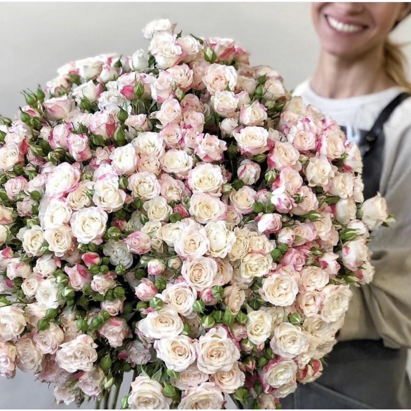 101 кустовая роза высота 70 см.