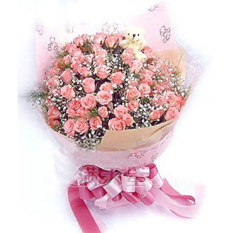 51 белая кустовая роза