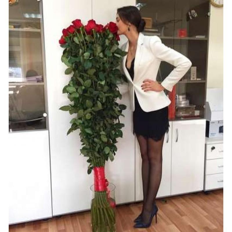 Розы 150 см., поштучно от 5 штук