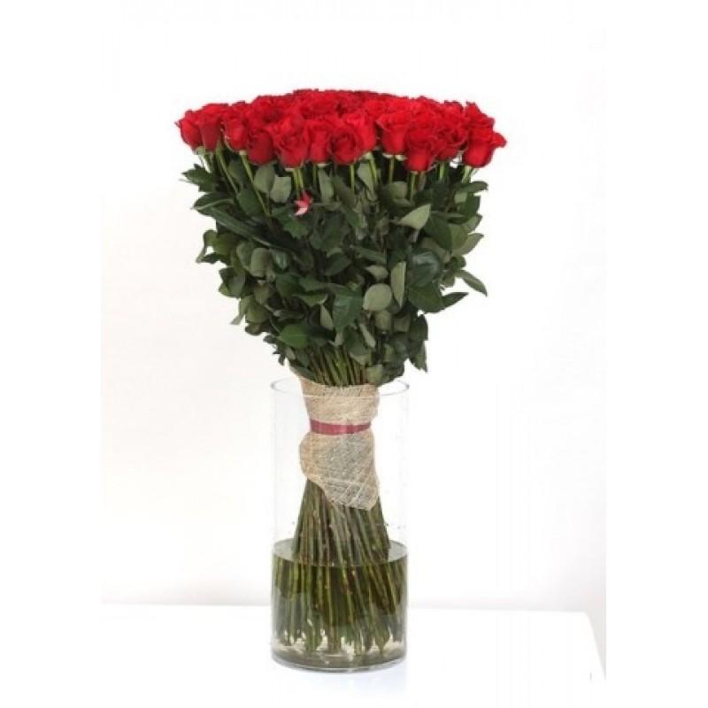 Метровые розы поштучно от 19 штук